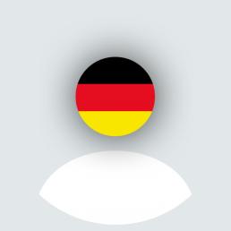 Deutschland Flagge Fahne Profilbild für WhatsApp