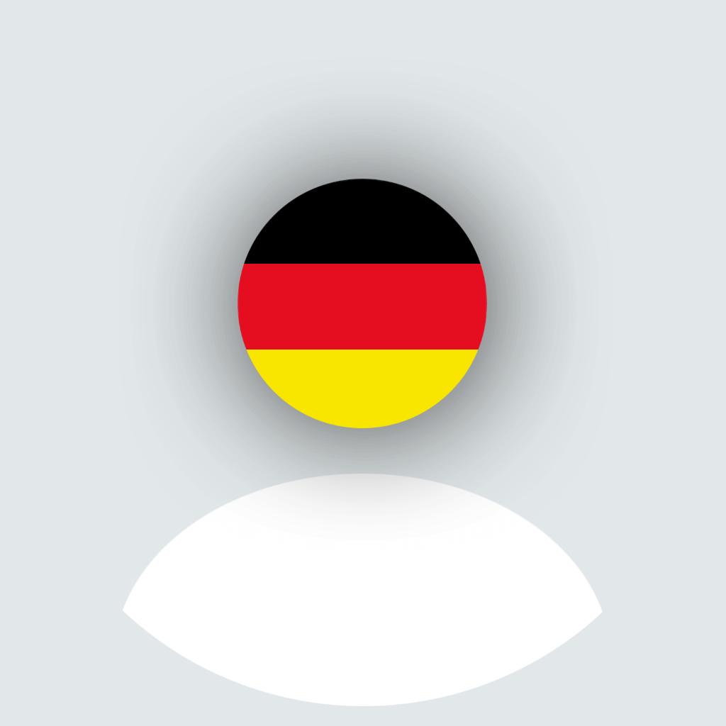 Deutschland Flagge 🇩🇪 Profilbild für WhatsApp Profil