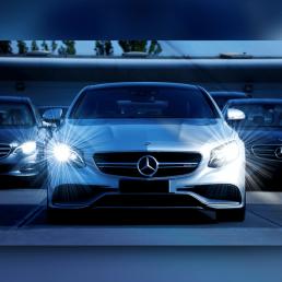 Mercedes Benz Auto Profilbild für WhatsApp