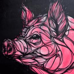 Graffiti Profilbilder (Schwein)