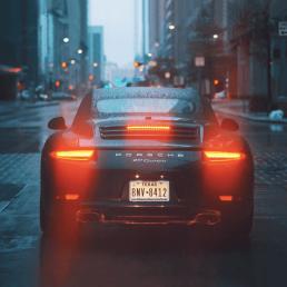 Profilbild mit Auto Sportwagen