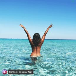 Sommer Sonne Meer Strand Profilbild
