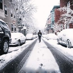 winter, stadt, münchen, kalt